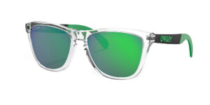 Oakley Frogskins Mix - Polished Clear - Prizm Jade - OO9428-0455 - 888392404688