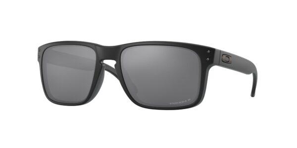 Oakley Holbrook - Matte Black - Prizm Black Polarized - OO9102-D655 - 888392260109