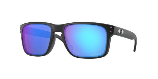 Oakley Holbrook - Matte Black - Prizm Sapphire Polarized - OO9102-F055 - 888392327031