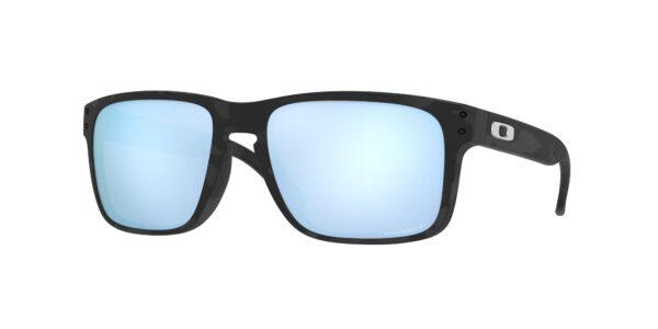 Oakley Holbrook - Matte Black Camo - Prizm Deep Water Polarized - OO9102-T955 - 888392555267