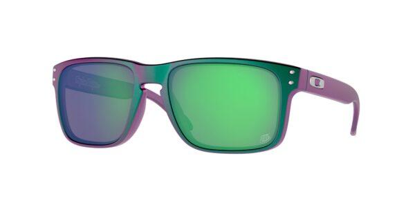 Oakley Holbrook - TLD Matte Purple Green Shift - Prizm Jade - OO9102-T455 - 888392540355