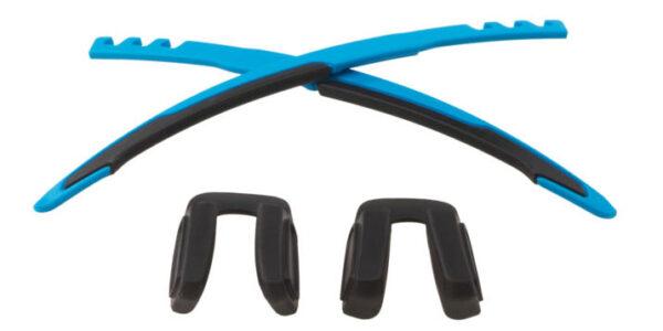 Oakley Jawbreaker Sock Kit - Sky / Black - 652-008 - 888392154989