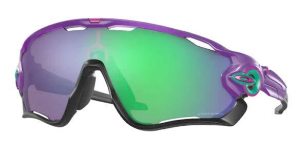 Oakley Jawbreaker - Matte Electric Purple - Prizm Jade - OO9290-6631 - 888392568328