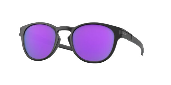 Oakley Latch - Matte Black - Prizm Violet - OO9265-5553 - 888392471635