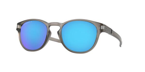 Oakley Latch - Matte Grey Ink - Prizm Sapphire Polarized - OO9265-3253 - 888392320551