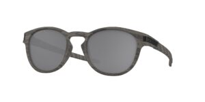 Oakley Latch - Woodgrain - Prizm Black Polarized - OO9265-3853 - 888392350510