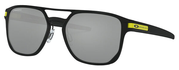 Oakley Latch Alpha - VR46 - Matte Black - Prizm Black - OO4128-0853 - 888392425690