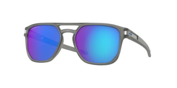 Oakley Latch Beta - Matte Grey Ink - Prizm Sapphire Polarized - OO9436-0654 - 888392377029
