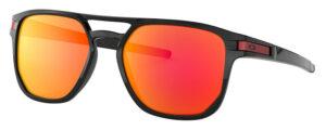 Oakley Latch Beta - Polished Black - Prizm Ruby - OO9436-0754 - 888392377036