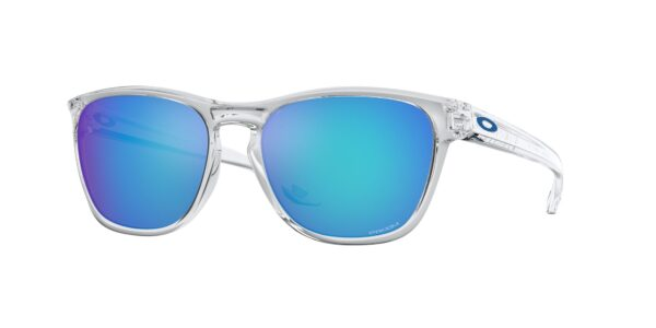 Oakley Manorburn - Polished Clear - Prizm Sapphire - OO9479-0656 - 888392555052