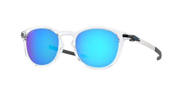 Oakley Pitchman R - Polished Clear - Prizm Sapphire - OO9439-0450 - 888392402370