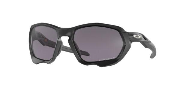 Oakley Plazma - Matte Black - Prizm Grey Polarized - OO9019-0259 - 888392555946