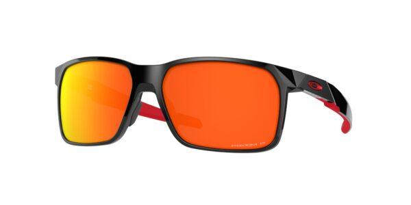 Oakley Portal X - Polished Black - Prizm Ruby Polarized - OO9460-0559 - 888392470690