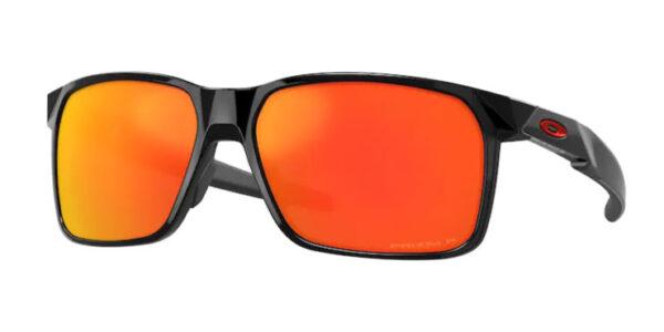 Oakley Portal X - Polished Black - Prizm Ruby Polarized - OO94601-1759 - 888392562418