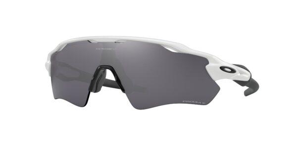 Oakley RadarEV - Path - Polished White - Prizm Black Polarized - OO9208-9438 - 888392459633