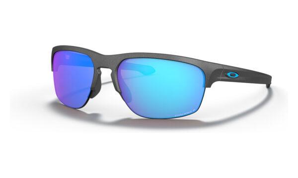 Oakley Sliver Edge - Steel - Prizm Sapphire Polarized - OO9413-0665 - 888392338471