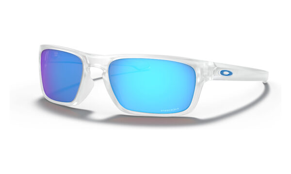 Oakley Sliver Stealth - Matte Clear - Prizm Sapphire - OO9408-0456 - 888392338587