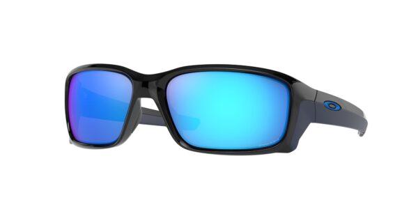 Oakley Straightlink - Polished Black - Prizm Sapphire - OO9331-2758 - 888392545541
