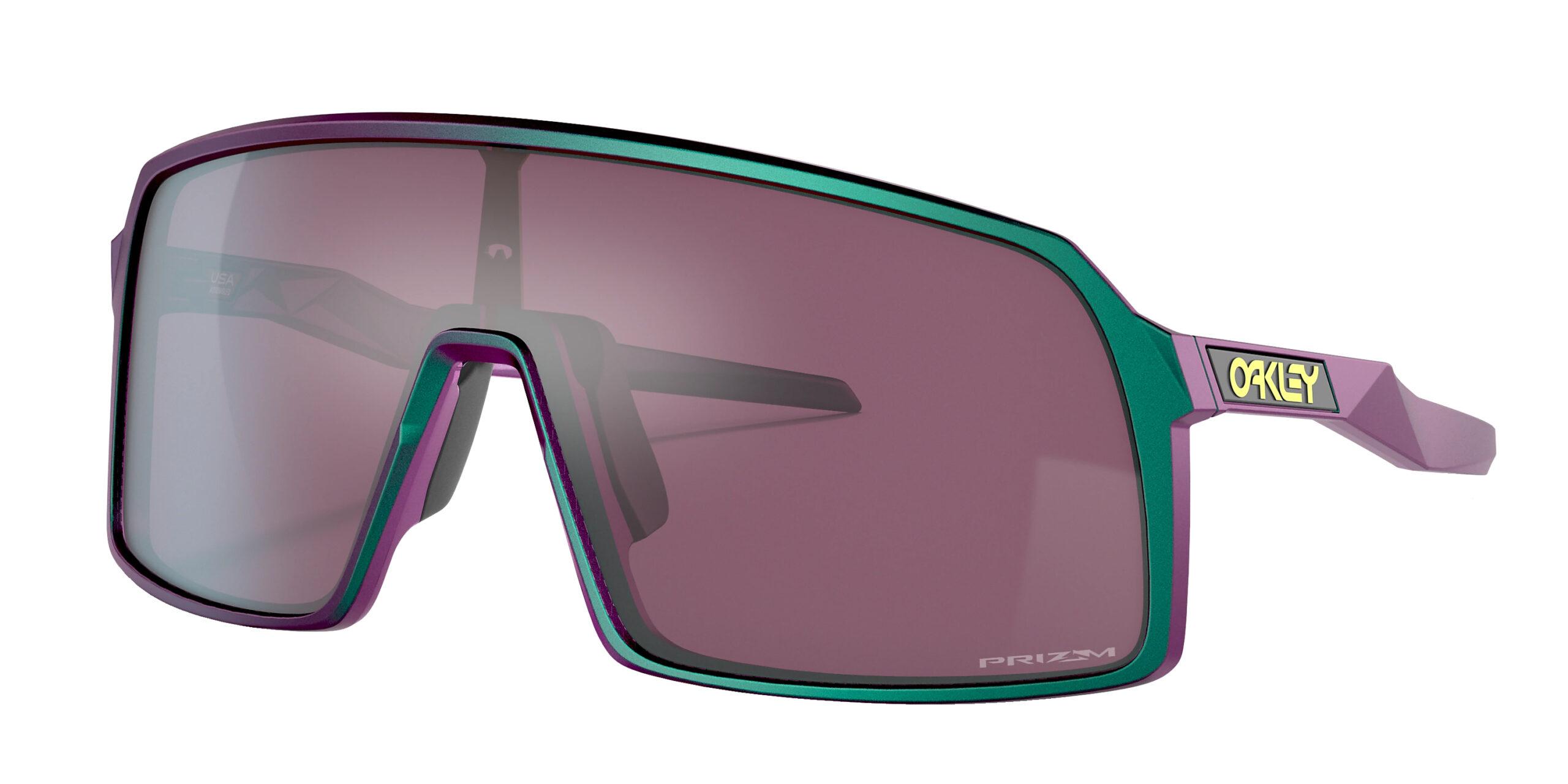 Oakley Sutro - Odyssey - Green Purple Shift - Prizm Road Black - OO9406-6037 - 888392560193