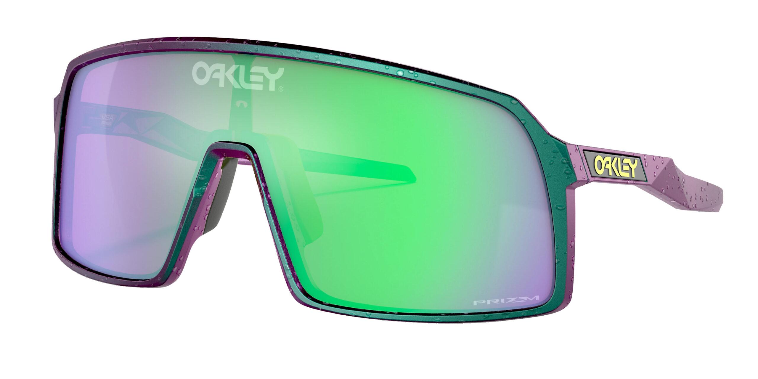 Oakley Sutro - Odyssey - Green Purple Splatter - Prizm Road Jade - OO9406-5937 - 888392560186