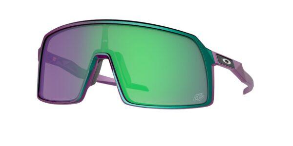 Oakley Sutro - TLD Matte Purple Green Shift - Prizm Jade - OO9406-4737 - 888392540331