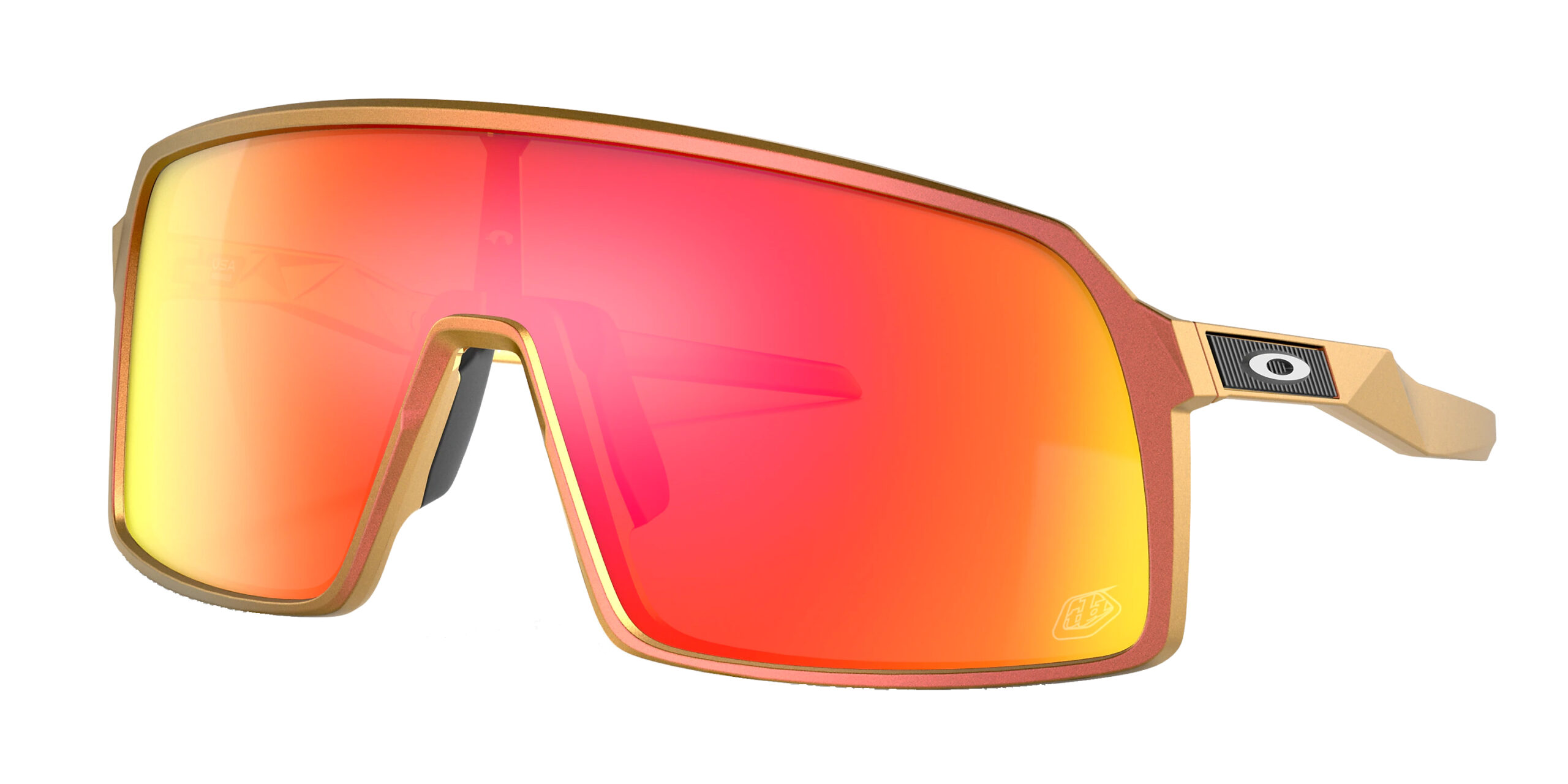 Oakley Sutro - TLD Red Gold Shift - Prizm Ruby - OO9406-4837 - 888392540348