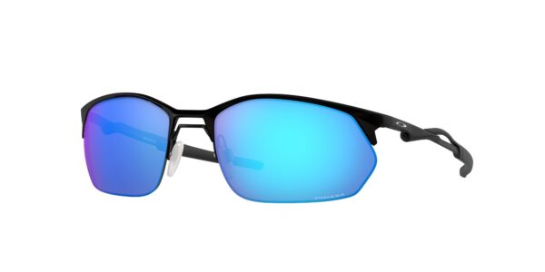 Oakley Wire Tap 2.0 - Satin Black - Prizm Sapphire - OO4145-0460 - 888392558114