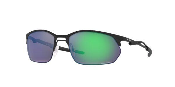 Oakley Wiretap 2.0 - Satin Light Steel - Prizm Jade - OO4145-0360 - 888392558107