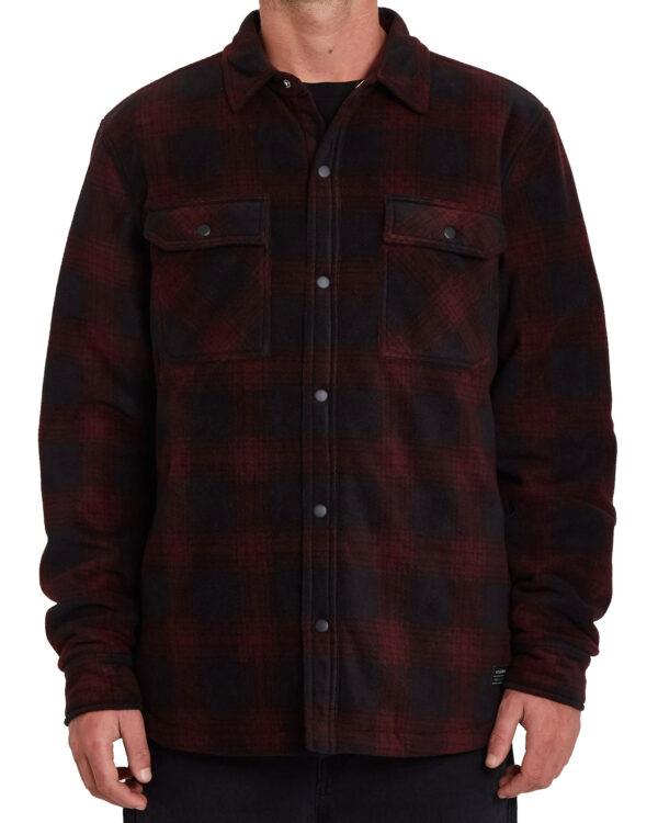 Volcom Bowered Woven LS Overshirt A5832101-POR