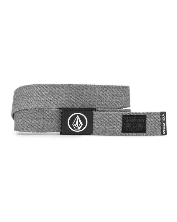 Volcom Circle Web Belt - Heather Grey - D5932102-HGR