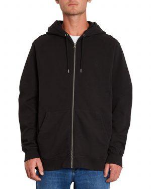 Volcom Feeleven Zip Fleece Hoody - Black - A4812102-BLK