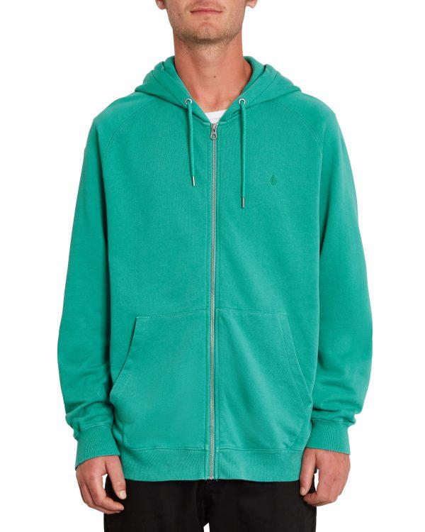 Volcom Feelven Zip Fleece Hoody - Synergy Green - A4812102-SYG