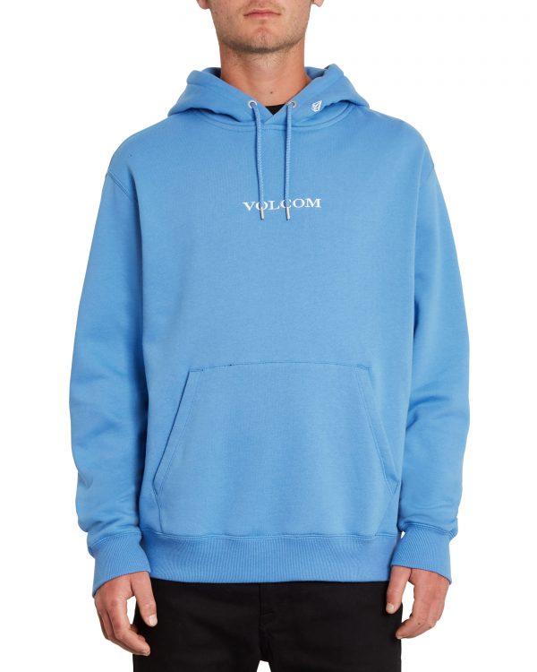 Volcom Stone - Pullover Fleece Hoody - Ballpoint Blue - A4112106-BPB