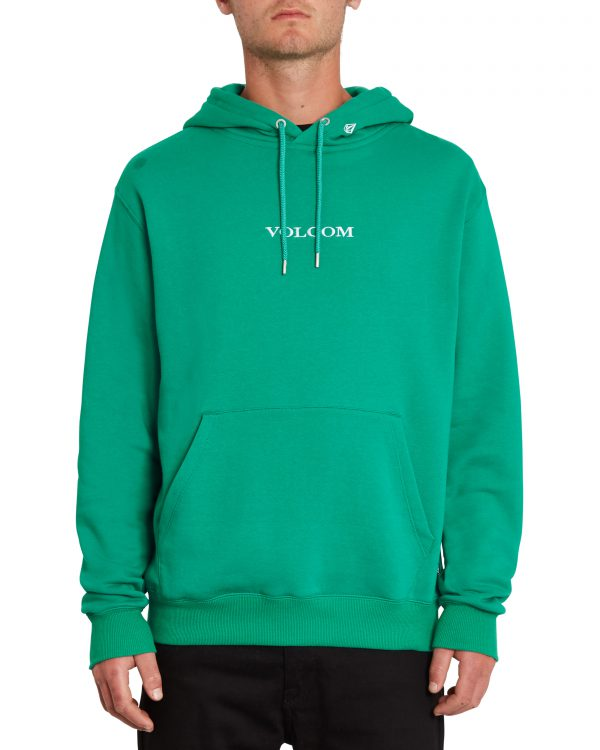 Volcom Stone - Pullover Fleece Hoody - Synergy Green - A4112106-SYG