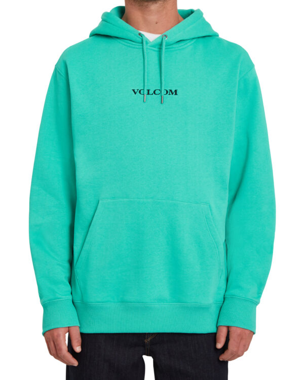 Volcom Stone Pullover Fleece Hoody - Atlantis - A4112106-ALT